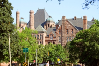 One of the buildings at University of Toronto.