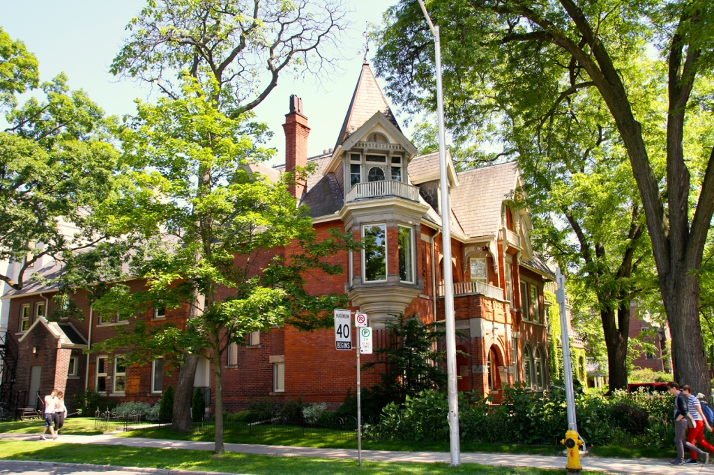 Toronto School of Theology, Victoria University, near Queen's Park.