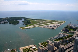 The airport on Toronto Island. We're going to be leaving from there to fly to Montreal in a couple of weeks.