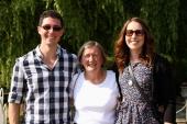 Karen, Donna and me.