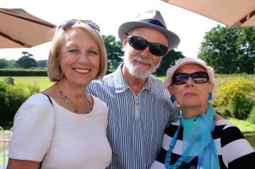 Jackie, Ian and Sheila.