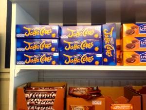 Jaffa cakes!
