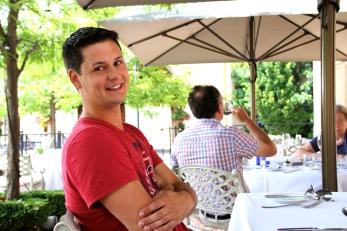Richard at table.