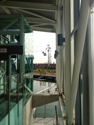 Sky line station.