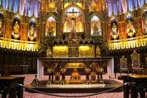The basilica's altar.