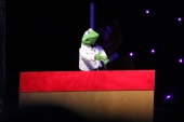 Kermit put in an appearance.