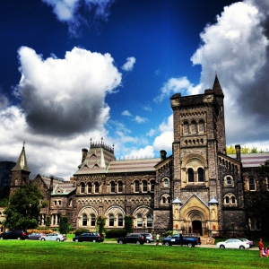 Kings College, University of Toronto. Wish I'd gone there.