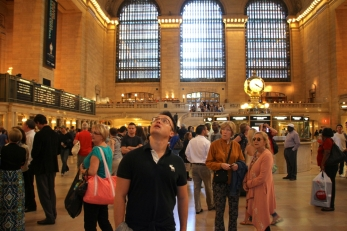Glen in Grand Central Terminal