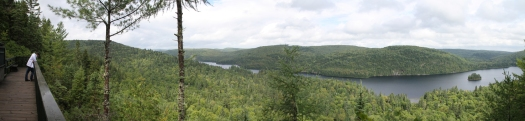 Panoramic view. (Not exactly correct but close enough and you get the idea).