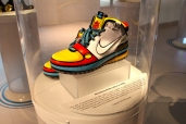 The Stewie Griffin sneaker.