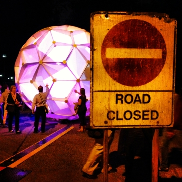 Ball and Road Closed