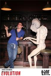 Me chatting up a mugwump.