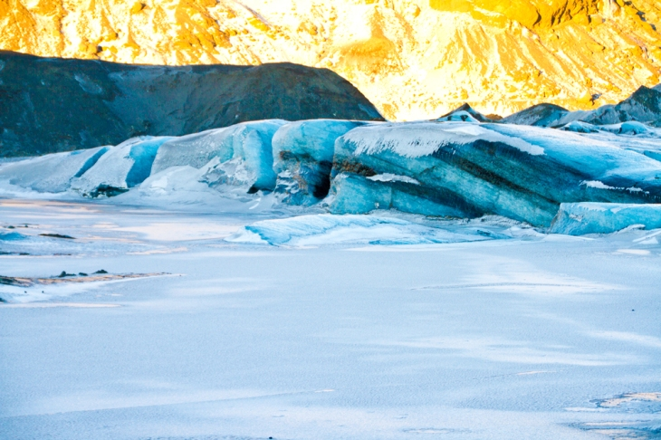 Sólheimajökull. That's ice, not rock.