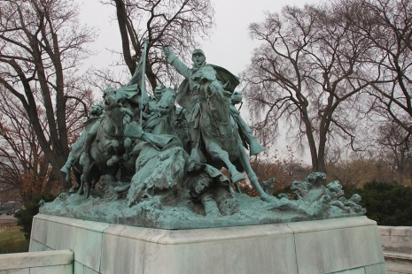 Part of the Ulysses Grant Memorial