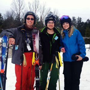 Glen, Jenny and me