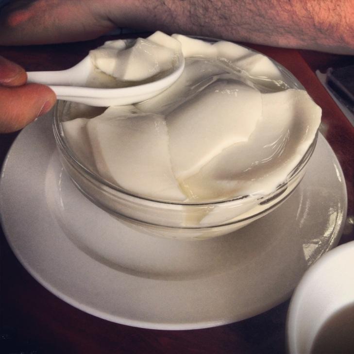 Yum cha tofu desert