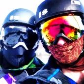 Daft Punk at the slopes