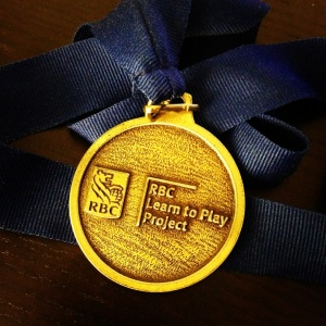 Gold medal!