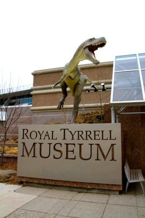 Royal Tyrrell Museum entrance