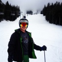 My champion skier