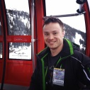 Having a rest in the peak-to-peak gondola