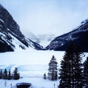 Lake Louise from our window