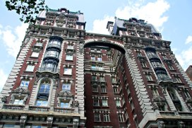 West 71st and Amsterdam - love this apartment building.