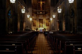 Inside Blessed Sacrament
