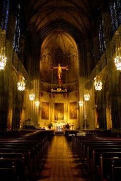 Inside Blessed Sacrament