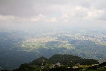 Salzburg below