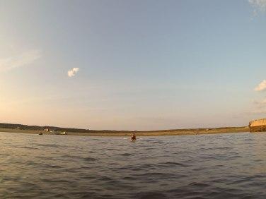 Glen in his kayak