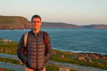 Me and Signal Hill in the background