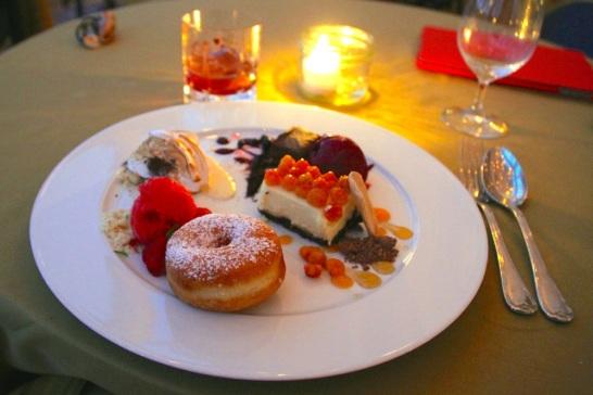Four desserts! Four!
