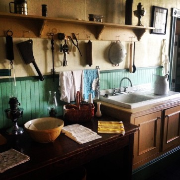 Grenfell House kitchen