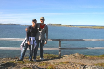 Us on the coastal walk