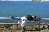 Glen being a ballerina