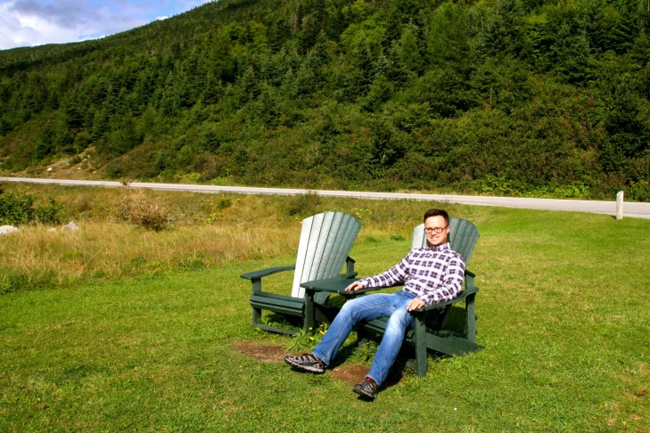 Taking a rest in Gros Morne