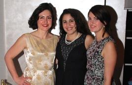 Fiamma, Gabriela and Jo
