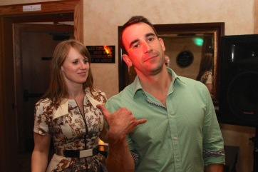 Bec and Alastair