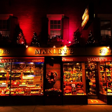Nicely lit liquor store sighted while we searched for dinner