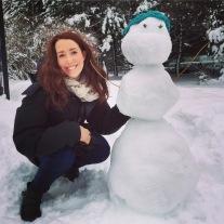 Our Snowman!
