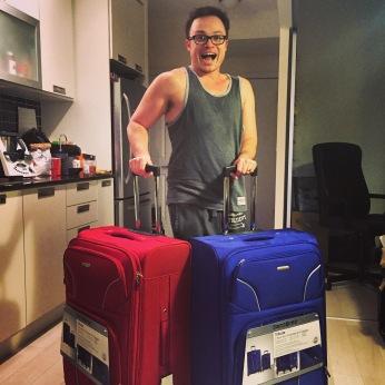 New suitcases!