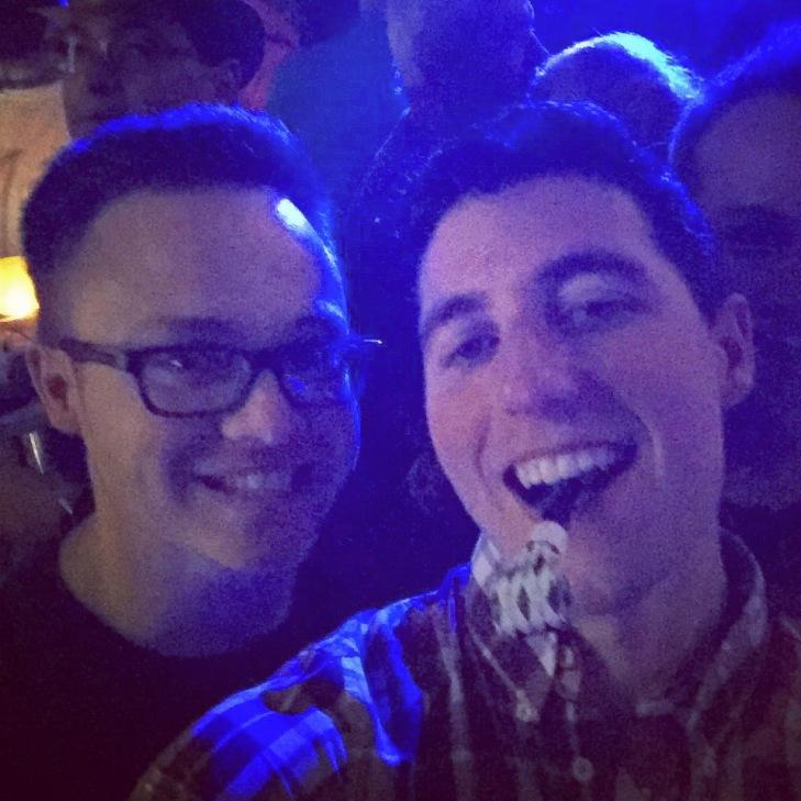 Glen and I