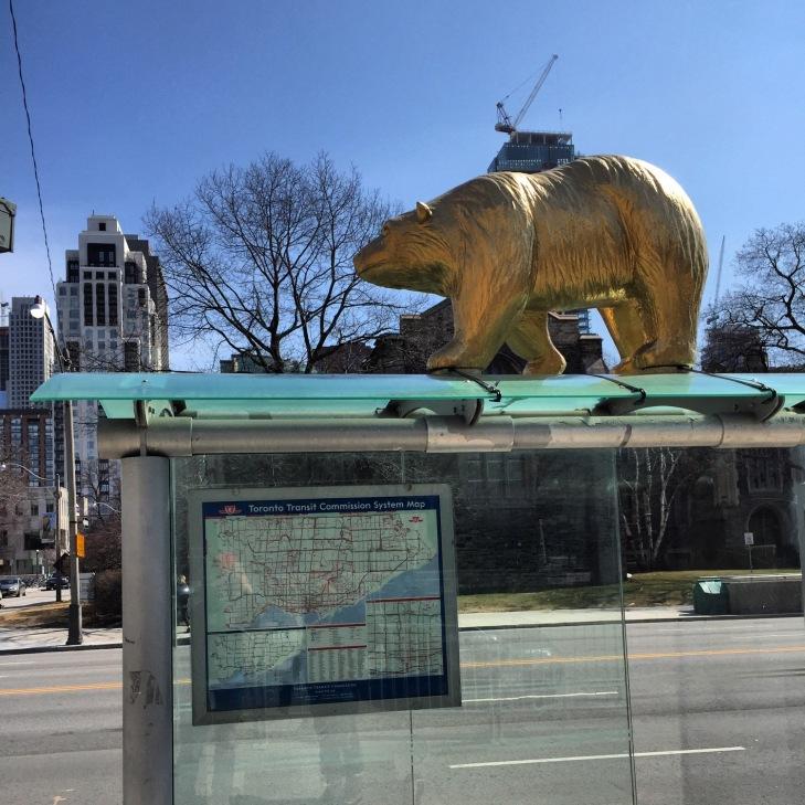 Golden Bear Bus Stop