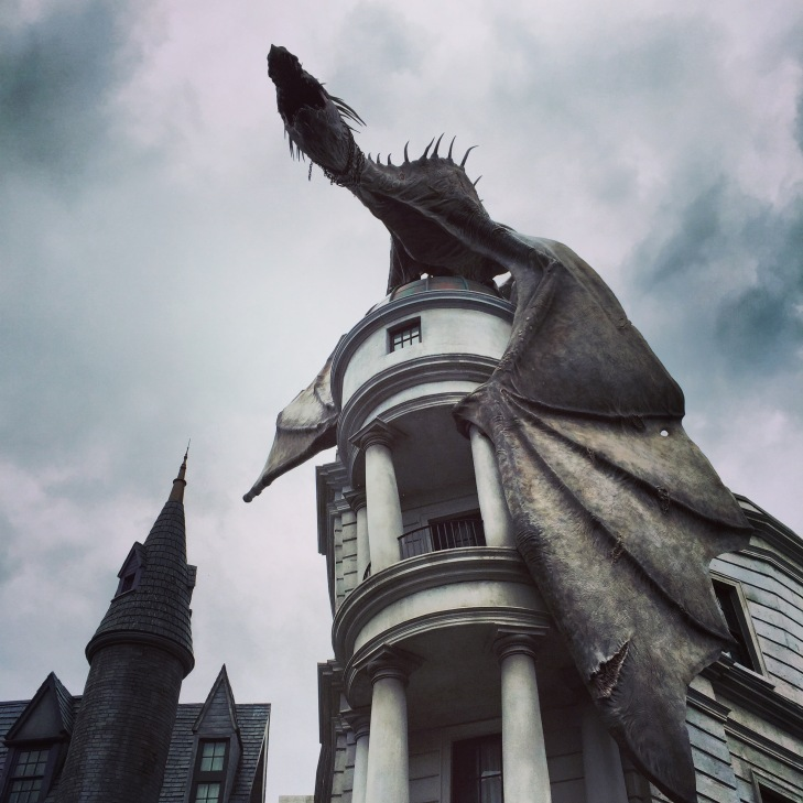 Dragon on Gringotts