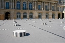 In the courtyard of Palais Royale