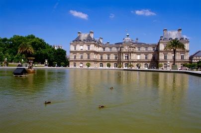 Les canards au Musee de Luxembourg