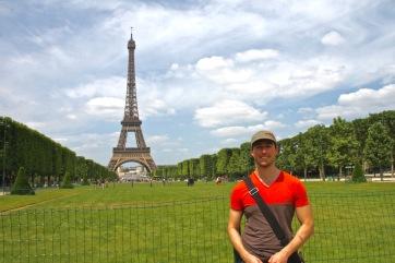 Moi et le tour Eiffel
