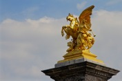 At Pont Alexandre III