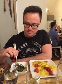 A meal at Sfoglia